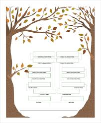 family tree template 8 free word pdf document downloads free