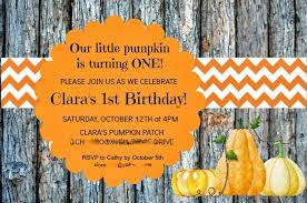 keeping up with the kiddos 1st birthday pumpkin party