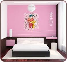 stickers chambre fille ado stickers muraux mangas sticker japonaise