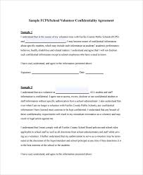 sample staff confidentiality agreement 7 documents in pdf word
