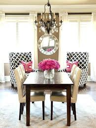 Black And Cream Dining Room - exotic black and cream dining room table furniture pink ideas with