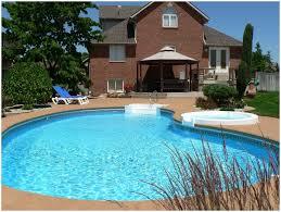 backyards appealing pool in the backyard backyard ideas