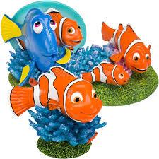 disney aquarium ornament sets