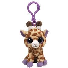 beanie boos safari giraffe clip 36507 ty