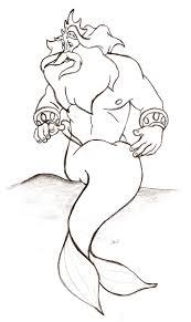 image detail for the little mermaid king triton sebastian 1989