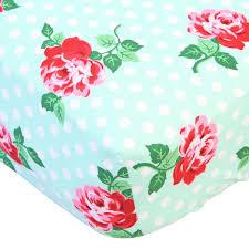lucy u0027s mint bumperless crib bedding caden lane