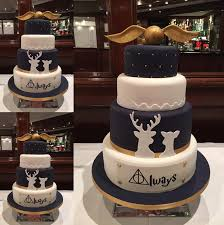 wedding cake quotation harry potter wedding cakes