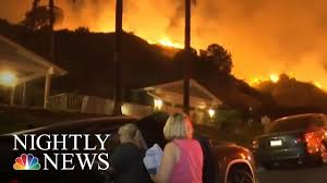 Wildfire Dc by Wildfires Sweep Across The West Nbc Nightly News Youtube