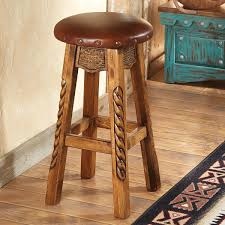 Wooden Swivel Bar Stool Bar Stools Pub Tables At Lone Western Decor