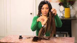 owigs clip ins onyx beauty diy how to make clip ins