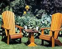 Free Plans For Lawn Chairs by Over 100 Free Outdoor Woodcraft Plans At Allcrafts Net