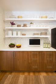 floating shelves look san francisco contemporary kitchen