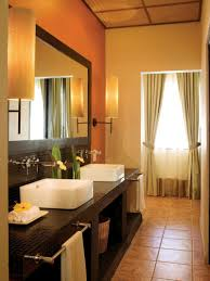 bathroom fascinating sets ideas design with corner wonderful bathroom sets ideas with glass window cream curtain sweet brown wooden cabinet