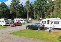 Awning Pegs For Hard Standing Pitches Somers Wood Caravan Park In Coventry Warwickshire