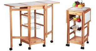 kitchen island trolley kitchen island trolley cart with wheel folding side tables