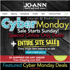 joann fabrics website jo cyber monday 2017 sale in store coupons blacker friday