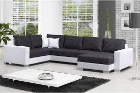 canapé cuir gris anthracite canapé panoramique bimatière seta design