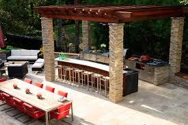 custom outdoor kitchens stunning home design