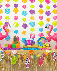 Summer Party Decorations Luau Party Theme Hawaiian Party Theme Summer Party