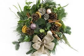 how to make a fresh wreath diy musleh