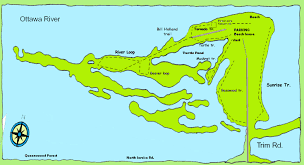 Map Of Ottawa Petrie Island Maps
