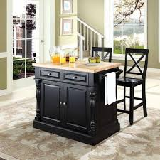 alexandria kitchen island crosley alexandria solid black granite top kitchen island white 0