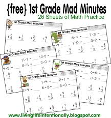Ist Grade Math Worksheets 1st Grade Math Worksheets