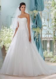 strapless wedding dress embroidered strapless a line wedding dress 116208 alesea