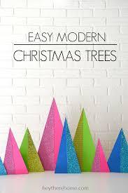 modern christmas modern christmas trees diy