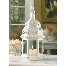 Lantern Wedding Centerpieces Belfort White Candle Lantern Wedding Centerpiece Best Decor Com