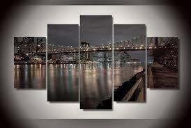 chambre de d馗ompression hd imprimé york ville roosevelt orient peinture impression sur
