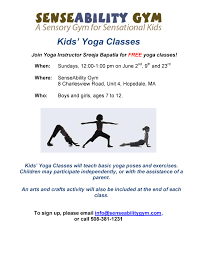 try yoga with your kids for free senseability connections