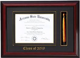 diploma frames with tassel holder diploma tassel frame 11x8 5 2018 customizable