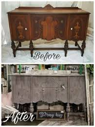 painted furniture for farmhouse styled home painted by rustic