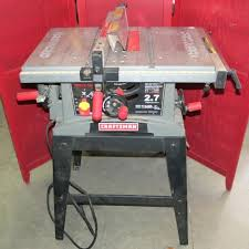 craftsman 10 portable table saw sears 10 inch table saw craftsman portable table saw inch craftsman