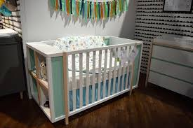 Babyletto Convertible Crib by Bedroom White Babyletto Hudson Crib With Striped Bedding And