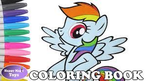 rainbow dash coloring book pony rainbow dash