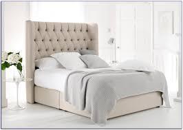 Tufted King Bed Frame Bedroom King Tufted Headboard Upholstered King Bed King Size