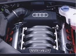 audi allroad quattro 4 2 v8 engine 03 2002 car factory press