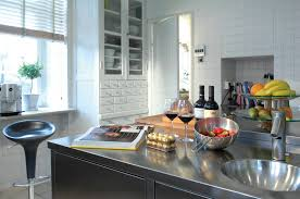 Stainless Steel Kitchen Bench Stainless Steel Benchtops Clic Stainless Steel Interiors Purus Limited