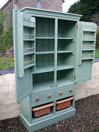 freestanding larder cupboard with 2 drawers u0026 2 baskets