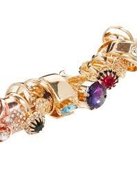 ring charm bracelet images Lyst asos ring charm bracelet jpeg