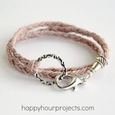 make wrap bracelet images Woven wrap bracelet happy hour projects jpg