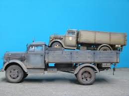 opel blitz ww2 do you guys know of any military vehicle kits in 1 24 or 1 25