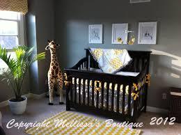 nursery beddings yellow and gray chevron crib bedding plus blue