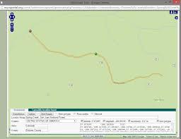 Dolores Colorado Map by Georeferencing The Polygon Method Idigbio