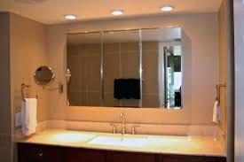 tri fold mirror bathroom cabinet tri fold mirror bathroom cabinet mirror medicine cabinet photo 7