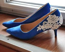 wedding shoes royal blue royal blue shoes etsy