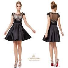 black short sleeve lace pleated chiffon dress black lace cocktail