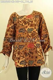 desain baju batik halus pakaian batik motif elegan desain modern baju batik solo jawa